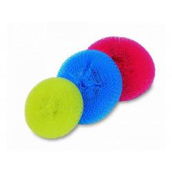 Drátěnka perlon, mix barev, 25ks/krt