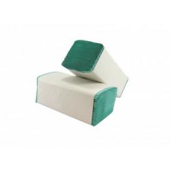 Ručníky standard ZZ, zelené, 5000ks/krt