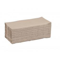 Ručníky standard ZZ, šedé, 5000ks/krt