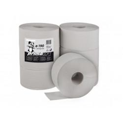 Toal. papír Jumbo 190, 1vrs. 167m, šedý, 6 ks/krt