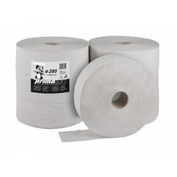 Toal. papír Jumbo 280, 1vrs. 363m, šedý, 6 ks/krt