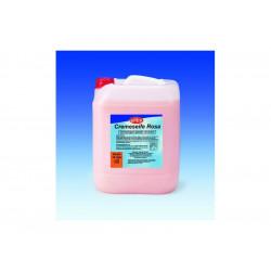 Mýdlo perleťově krémové, růžové, 10litrů