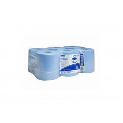 WYPALL* L20 Utěrky, role s centr. odvin, modrá, 6x400utěrek