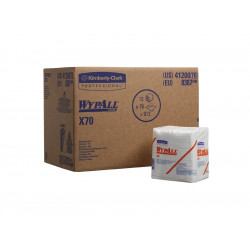 WYPALL* X70 Utěrky, 1/4 sklad, bílá, 1bal / 76utěrek