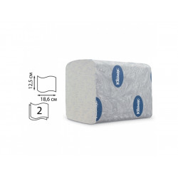 Toal. papír Kleenex, skládaný, bílý, 2vrst., 36x200útr.