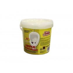 WC kostky žluté Uripur, 1kg (cca 35ks)